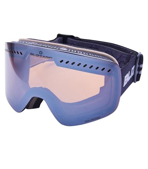 Obrázek z lyžařské brýle BLIZZARD Ski Gog. 985 MDAVPO, black matt, smoke2, flash mirror
