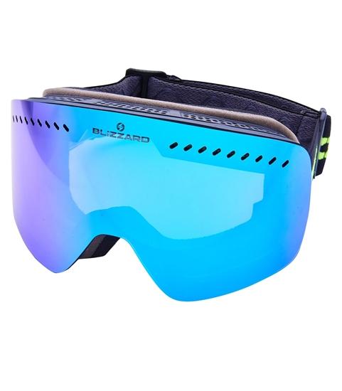Obrázek z lyžařské brýle BLIZZARD Ski Gog. 985 MDAVZO, black matt, smoke2, ice revo