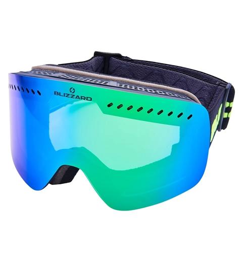 Obrázek z lyžařské brýle BLIZZARD Ski Gog. 985 MDAVZO, black matt, smoke2, green revo