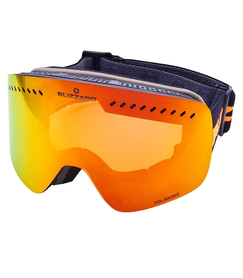 Obrázek z lyžařské brýle BLIZZARD Ski Gog. 985 MDAVZPO, black matt, smoke2, red revo
