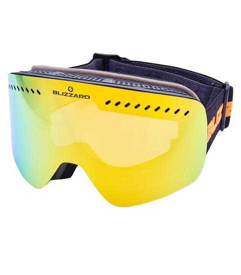 Obrázek z lyžařské brýle BLIZZARD Ski Gog. 985 MDAVZO, black matt, smoke2, orange revo