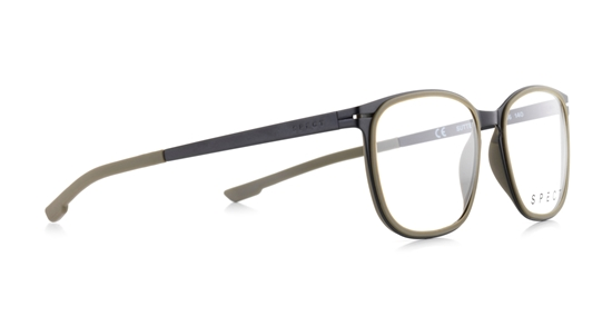 Obrázek z brýlové obruby SPECT Frame, SUTTER-005, black, military green, 50-16-140