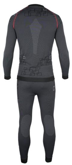 Obrázek z funkční kalhoty BLIZZARD Mens long pants, merino wool, anthracite