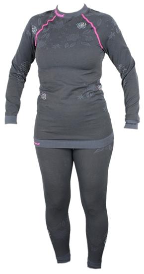 Obrázek z funkční triko BLIZZARD Viva long sleeve, merino wool, anthracite