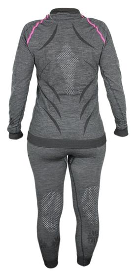 Obrázek z funkční kalhoty BLIZZARD Viva long pants, anthracite/light blue